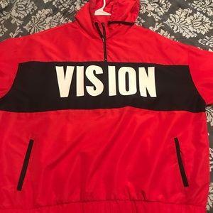 """Forever 21 """"VISION"""" windbreaker"""